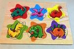 C28: Wooden Animals Puzzle