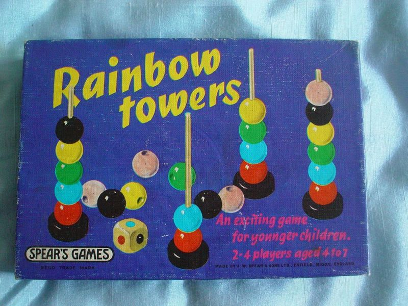 M128: Rainbow Towers Game