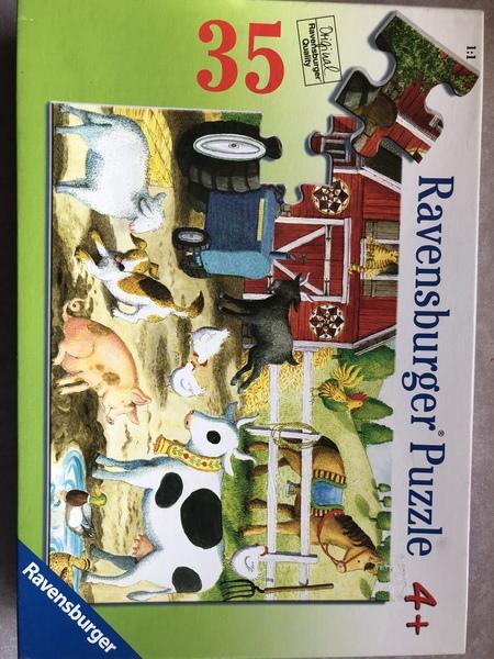 C146: Ravensburger farm puzzle 35 pieces