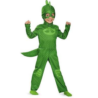 D46: Gecko Costume Size 4-6