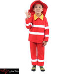 D49: Fire fighter costume size 3-5