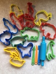 L109: Play dough Animal Shape cutters