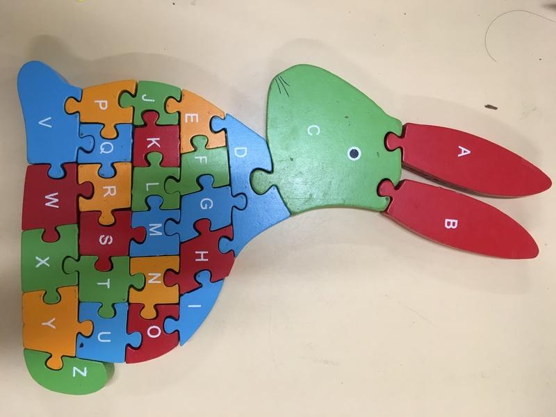 C204: Rabbit alphabet / number puzzle