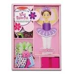 L128: Magnetic ballerina dress up
