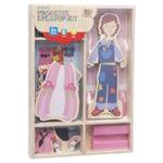 L129: Magnetic doll dress up