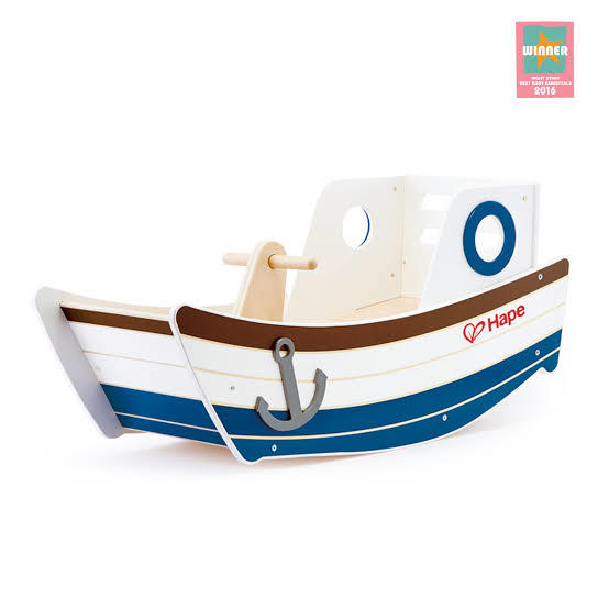 A307: Hape Rocking Boat