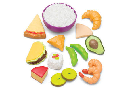 F277: Multicultural food set