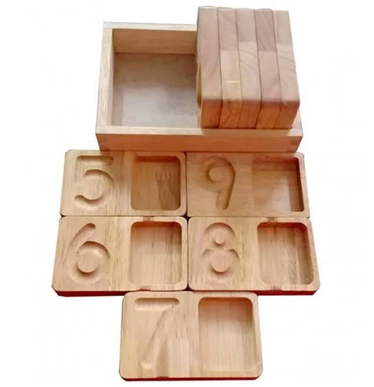 J4: Trace and count counting trays