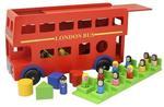 G95: Wooden London bus