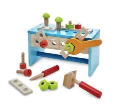 F56: Jack 'n' Jill Wooden Tool Box