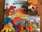 SS5: Five enormous dinosaurs storysack