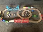 G152: Wooden train set