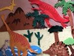 D20: Dinosaur felt board set