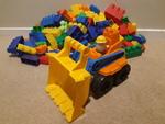 B94: Mega bloks Digger blocks