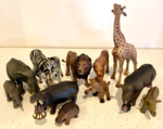 B2104: Plastic African Animals
