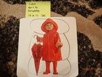 C406: Toddler Puzzle with umbrella
