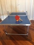 A1: Portable ping pong table set