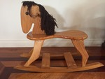 P1: Wooden rocking horse