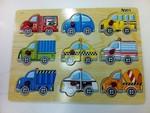 A001: Puzzle, peg, vehicle