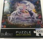 B021: Puzzle, Beach Unicorn