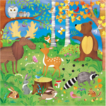 B025: Puzzle, Forest Friends, Jumbo