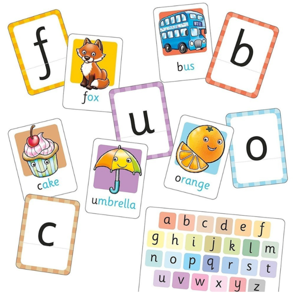 B057: Alphabet Flash Cards