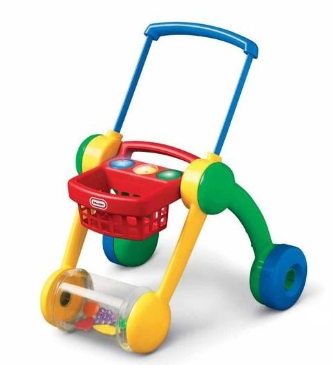 66: Baby Walker With Basket