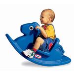 67: Blue Rocking Horse