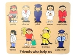 139: Wooden Puzzle Friends Who Help