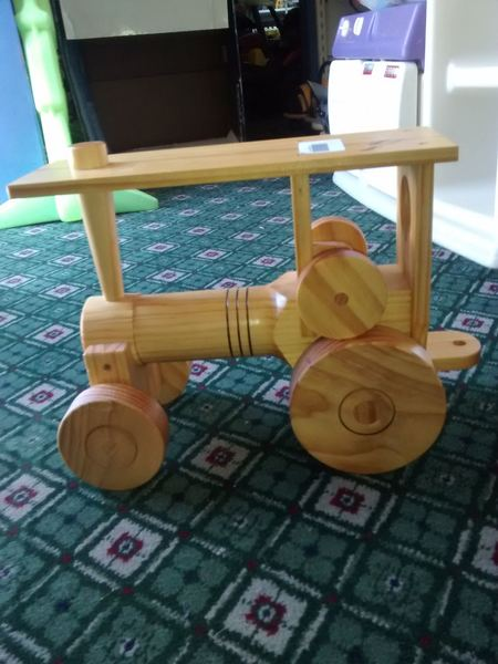 404: Wooden Traction Engine