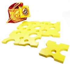 410: Crazy Cheese Puzzle