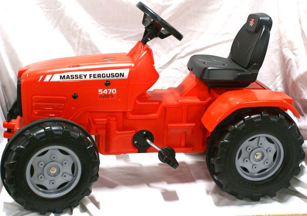 603: Red tractor