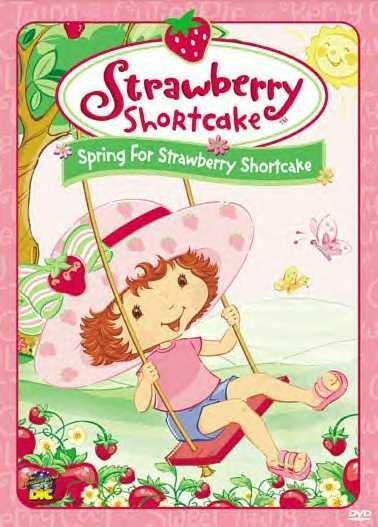858: Strawberry Shortcake - Spring For Strawberry Shortcake