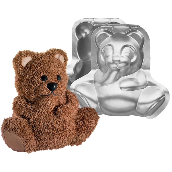 1046: Stand-Up Cuddly Bear Pan Set