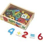 417: Wooden Number Magnets