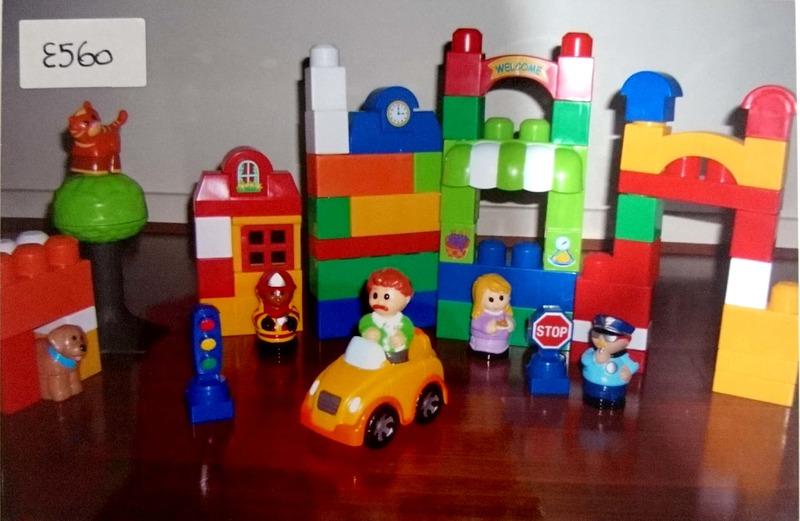 E560: Mega Blocks Neighborhood Set