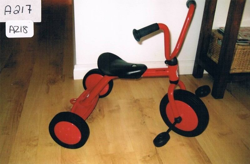 A217: Winther Tricycle with Back Plate PC