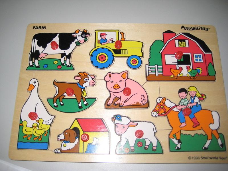 PZ734: Farm Puzzle PC