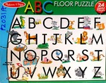 PZ031: Melissa & Doug ABC Floor Puzzle PC
