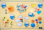 PZ125: Giggle & Hoot 1-5 Puzzle