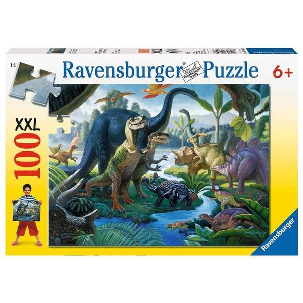 PZ166: Ravensburger Land of the Giants Dinosaur Puzzle (104pc)PC