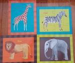 PZ003: Animal puzzles x4 PC