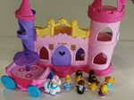 E1451: Little People Princess Palace with Carriage