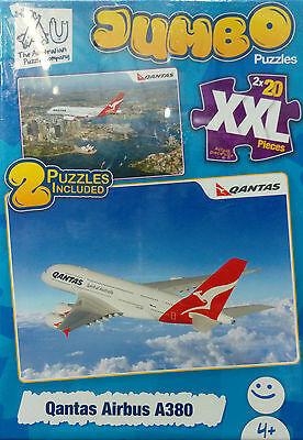 PZ239: Qantas Airbus A380 Puzzles (2x20 pc) PC