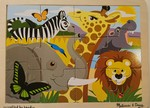 PZ242: Melissa & Doug African Animals 12 pc puzzle