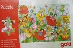 PZ187: Goki Wooden Fairy Garden Puzzle (96 pc)