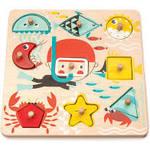 PZ274: Underwater Shapes Wooden Puzzle PC