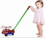 B025: Toddler Push & Pull Aeroplane