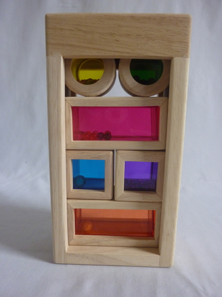 0018: Wooden Rainbow Sound Blocks