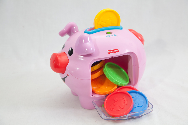 3021: Fisher-Price Piggy Bank